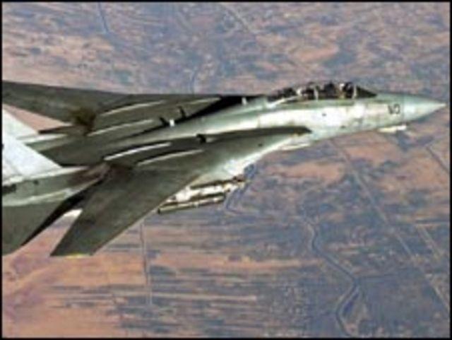 طائرة من طراز (اف 14)