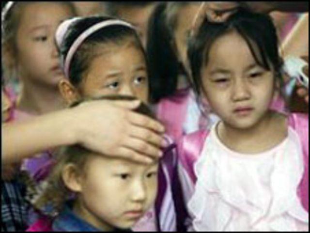 اطفال صينيون