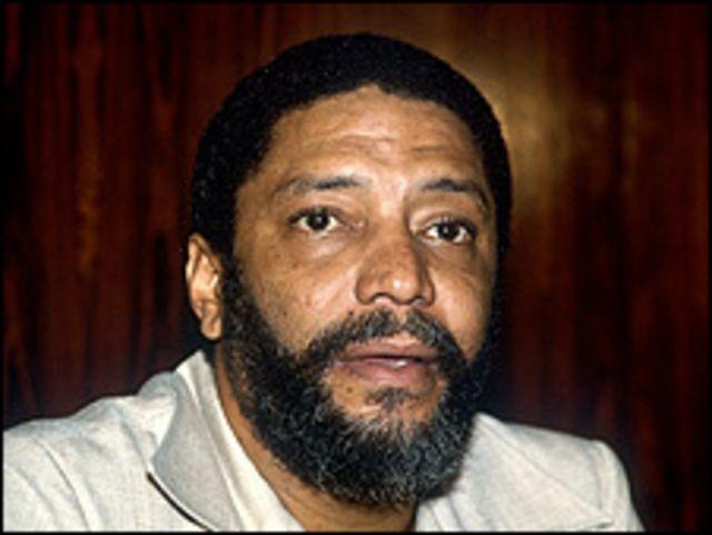 Maurice Bishop ex primer ministro de Grenada