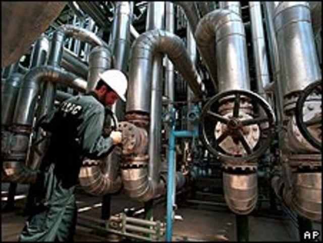 Complejo petrolero en Irán. Foto de archivo.