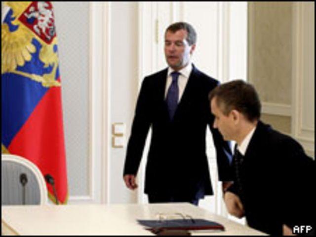 Дмитрий Медведев и Рашид Нургалиев