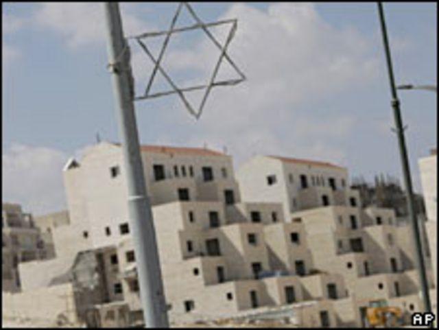 Asentamientos judíos en territorio palestino