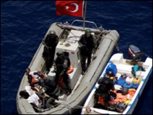 قوات لمحاربة القرصنة في خليج عدن
