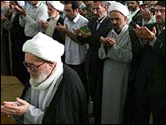 آیت الله منتظری در نماز عید فطر سالهای قبل - سایت