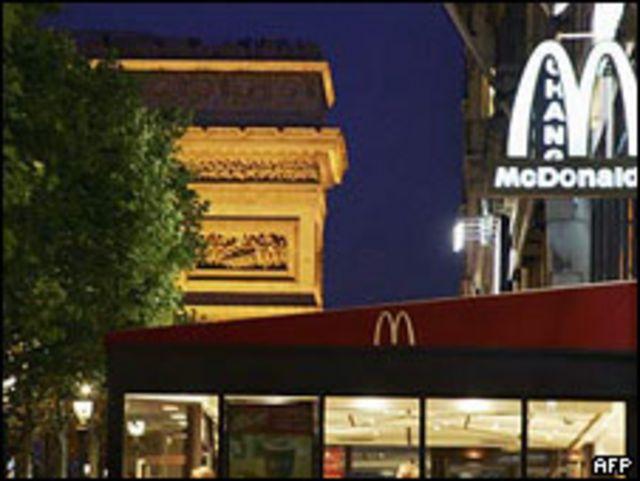 McDonald´s en Paris