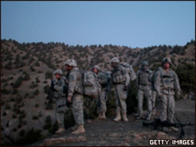 قوات  في أفغانستان