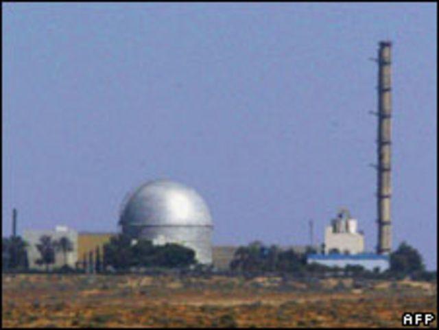 مفاعل ديمونة الاسرائيلي