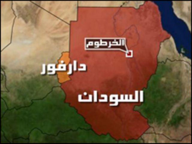 خارطة السودان