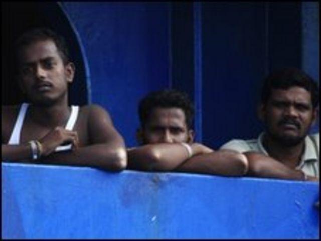 لاجئون سريلانكيون في اندونيسيا