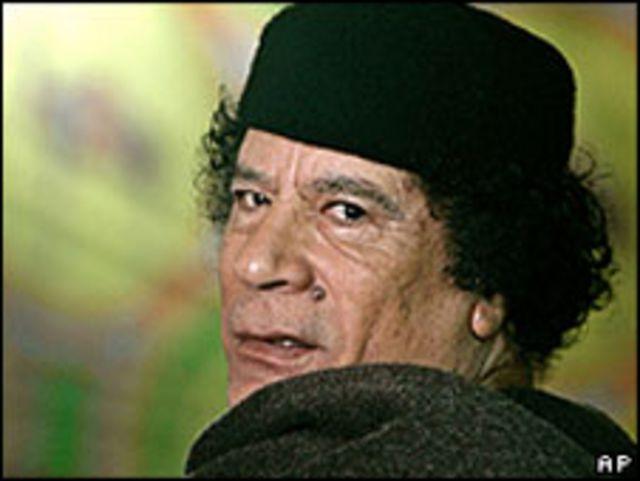 العقيد القذافي