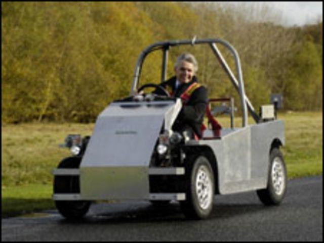 Лорд Дрейсон за рулем Т-27