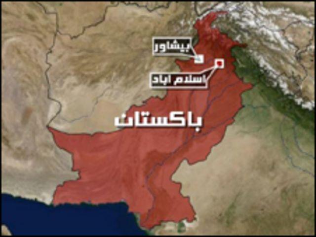 خارطة باكستان