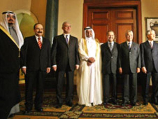 وزراء النفط العرب أعضاء أوبك