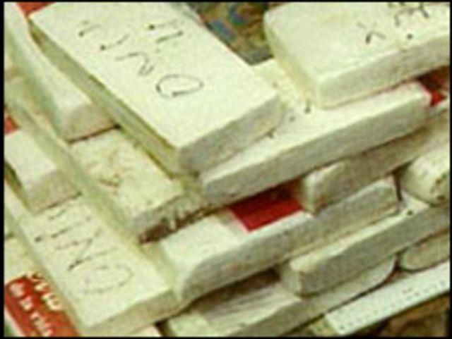 عکس آرشیوی از مواد اعتیادآور - کوکائین