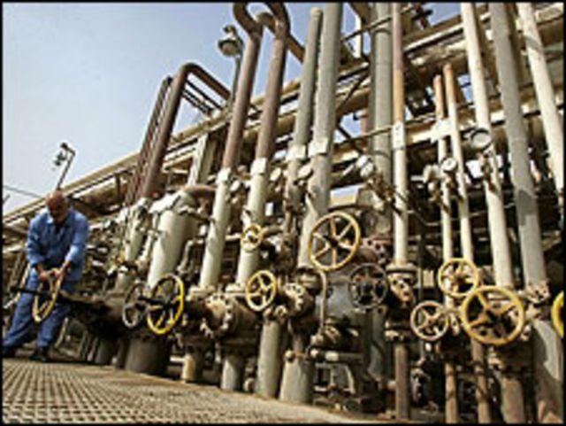 انابيب البترول العراقية