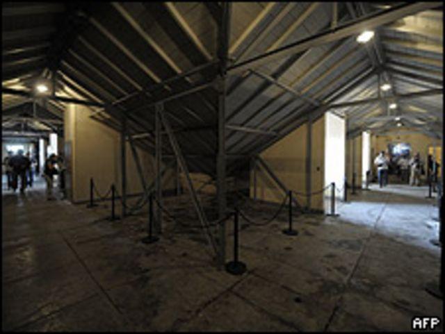 Imagen del interior de la ESMA de noviembre de 2009