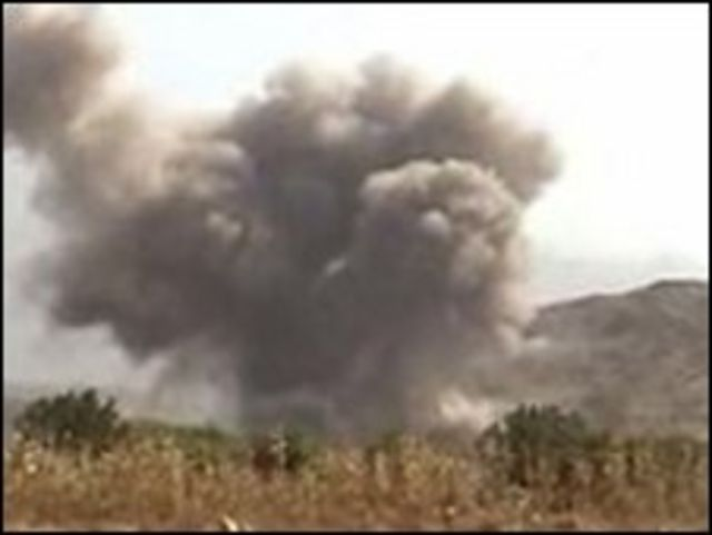 غارة في اليمن