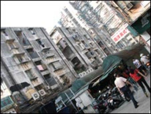澳門佑漢的老舊房屋(15/10/2009)