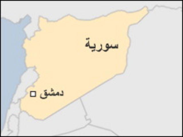خارطة سوريا