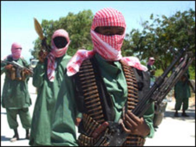 مقاتلون من حركة الشباب في الصومال