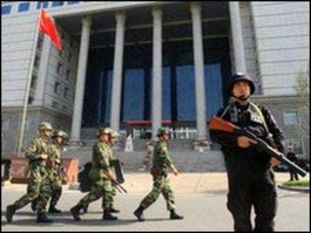 قوى امن صينية منتشرة في اورومتشي