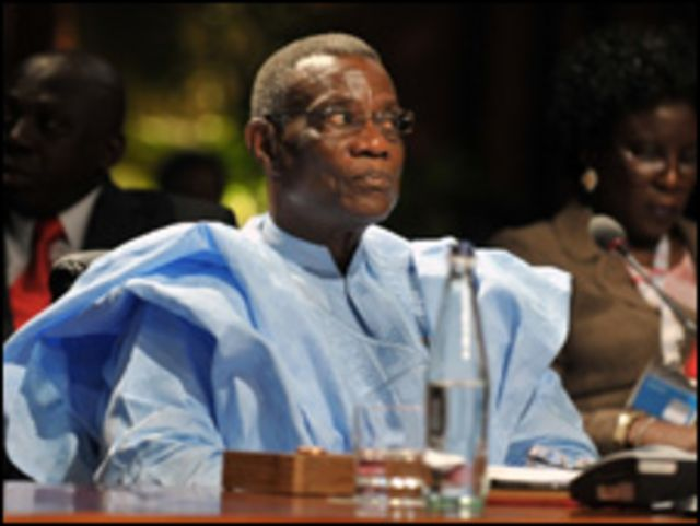 John Atta-Mills, shugaban Ghana