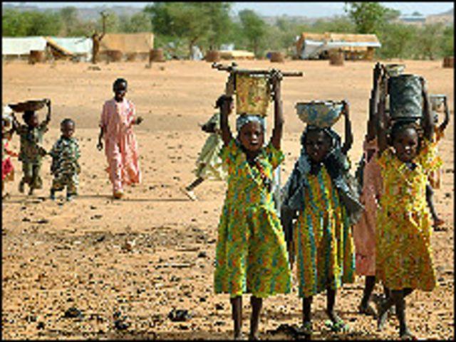 نازحون سودانيون في تشاد