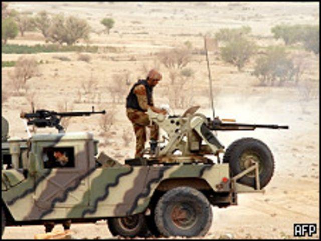 دورية للجيش اليمني
