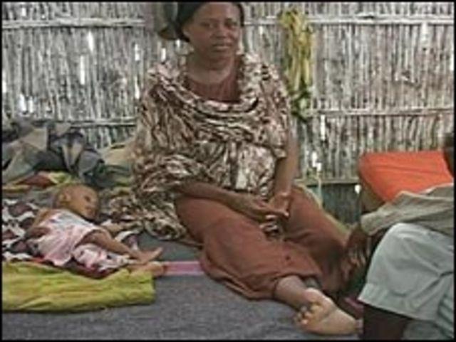 فقيرة صومالية