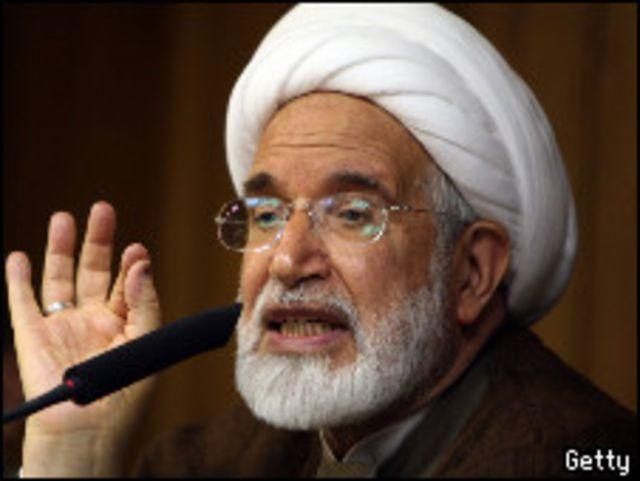 أحد زعماء المعارضة الإيرانية، مهدي كروبي