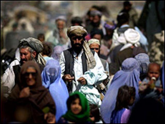 في شوراع أفغانستان