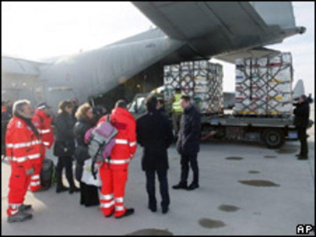 Ayuda desde Italia para Haití