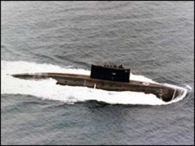 Tàu ngầm Kilo của Nga