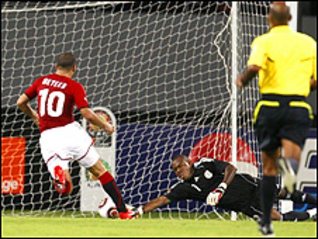 مباراة مصر موزمبيق