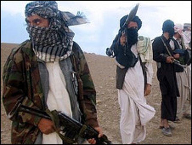 مسلحون افغان