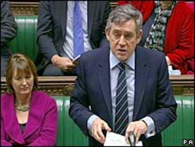 رئيس الحكومة البريطانية جوردون براون