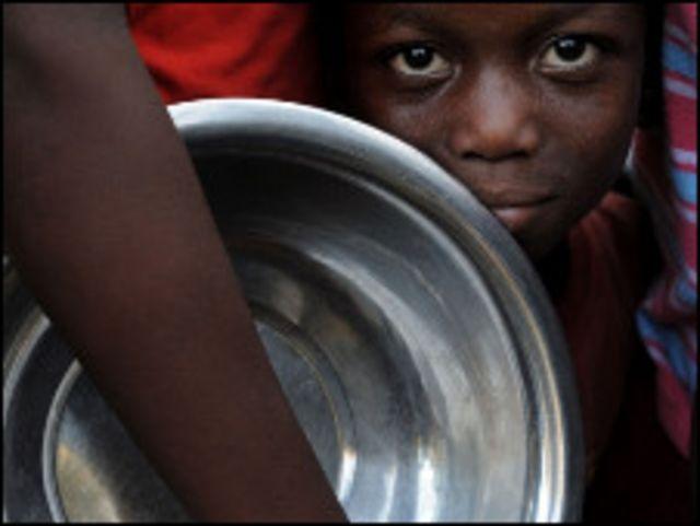 أطفال هايتي