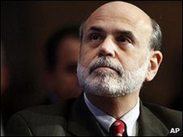Глава ФРС Бен Бернанке обещал разобраться с ролью Goldman Sachs в проблемах Греции