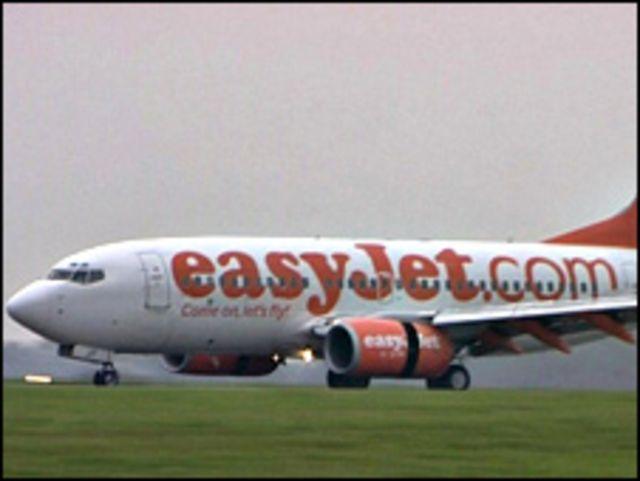 Avión Easyjet