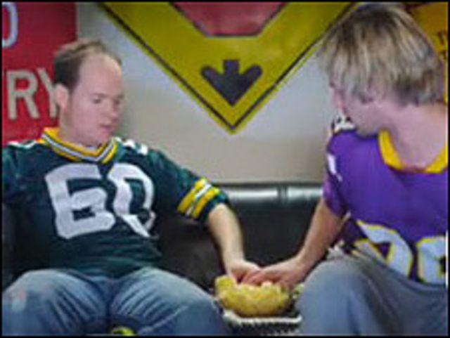 Cuadro del anuncio de Man Crunch para el Super Bowl. Cortesía: Mancrunch.com