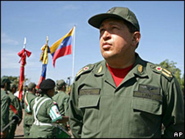 Presidente de Venezuela, Hugo Chávez (foto archivo)