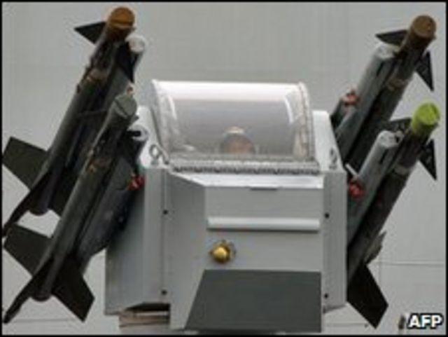 Sistema de misiles defensivos