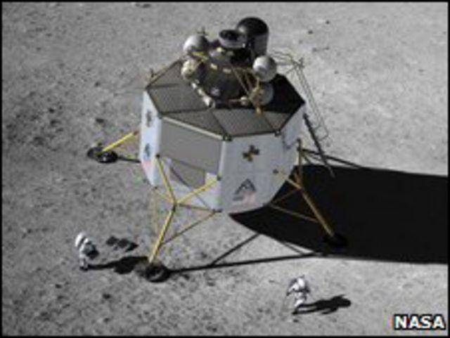 """نموذج لمسبار ناسا المقترح """"المسبار النسر"""""""