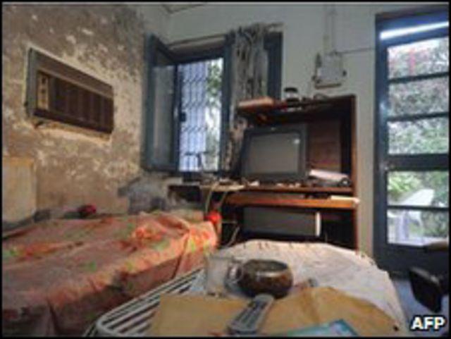 المنزل الذي اعتُقل فيه الأمريكيون الخمسة بباكستان