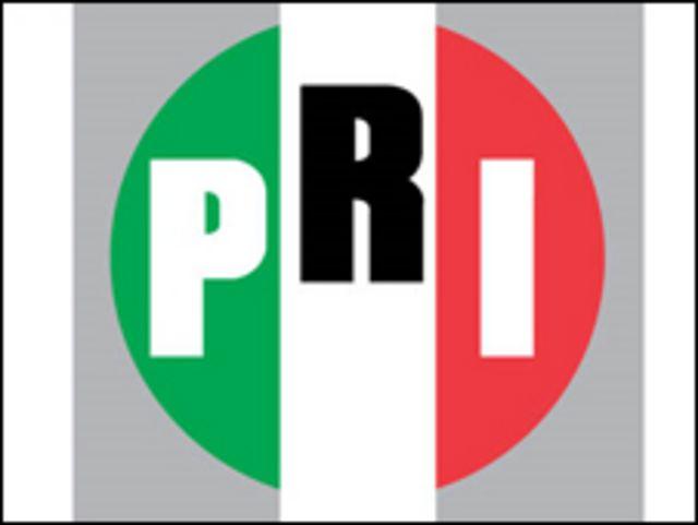 Logo del PRI, Partido Revolucionario Institucional de México