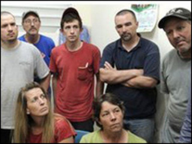 مبشِّرون أمريكيون معتقلون في هايتي