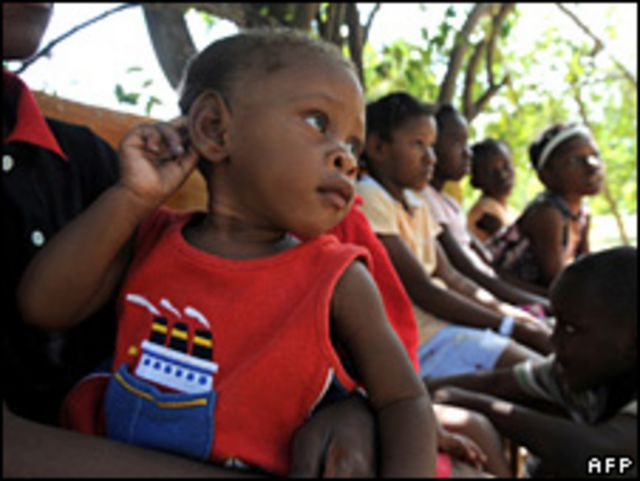 أطفال هاييتي بعد الزلزال