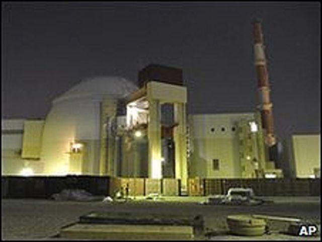 Planta nuclear de Bushehr, en Irán