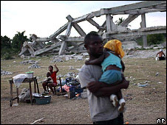 Ruinas en Haití