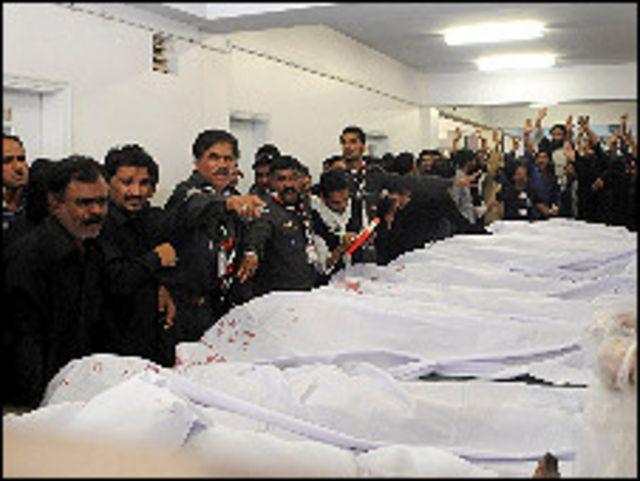 ضحايا انفجار كراتشي